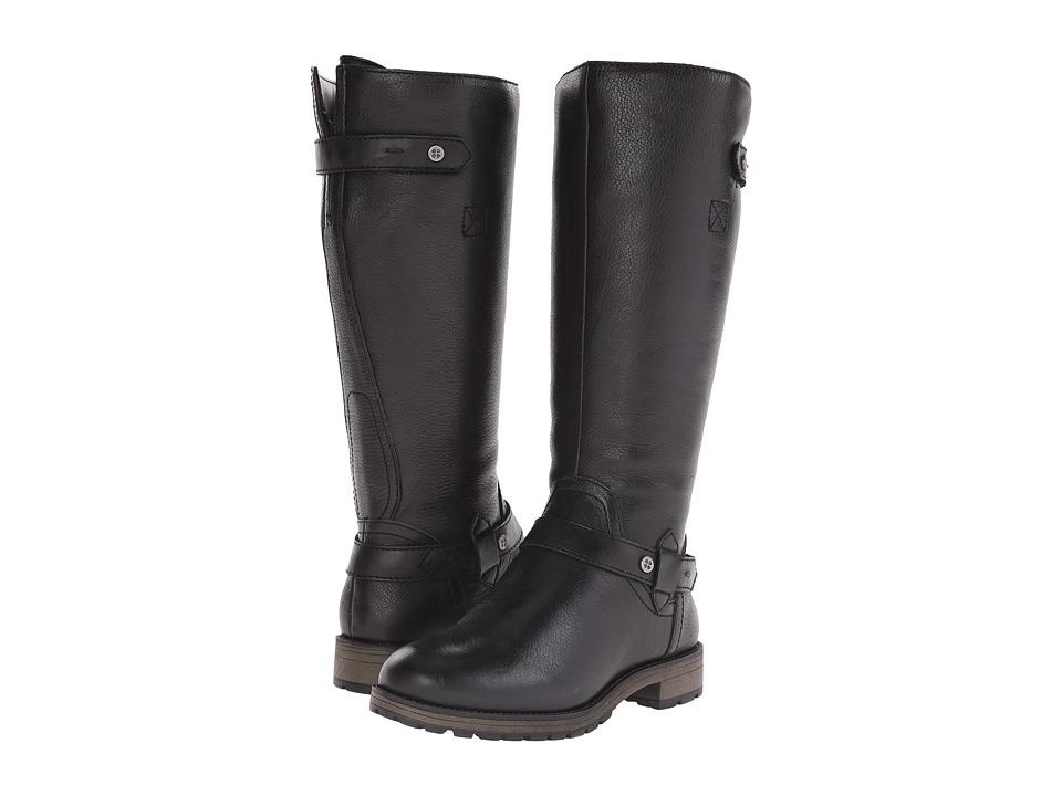 Naturalizer - Tanita (Black Leather) Women's Boots