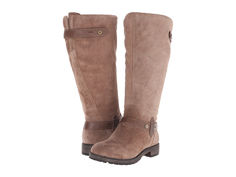 Naturalizer - Tanita Wide Calf (Truffle Taupe Suede/Leather) Women