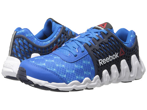 Reebok Kids - ZigTech Big N Fast EX (Little Kid) (Cycle Blue/Faux Indigo/White) Boys Shoes