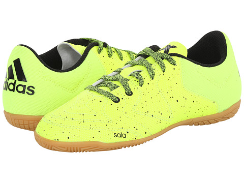 adidas Kids - X 15.3 CT J Soccer (Little Kid/Big Kid) (Solar Yellow/Black/Gummi) Kids Shoes