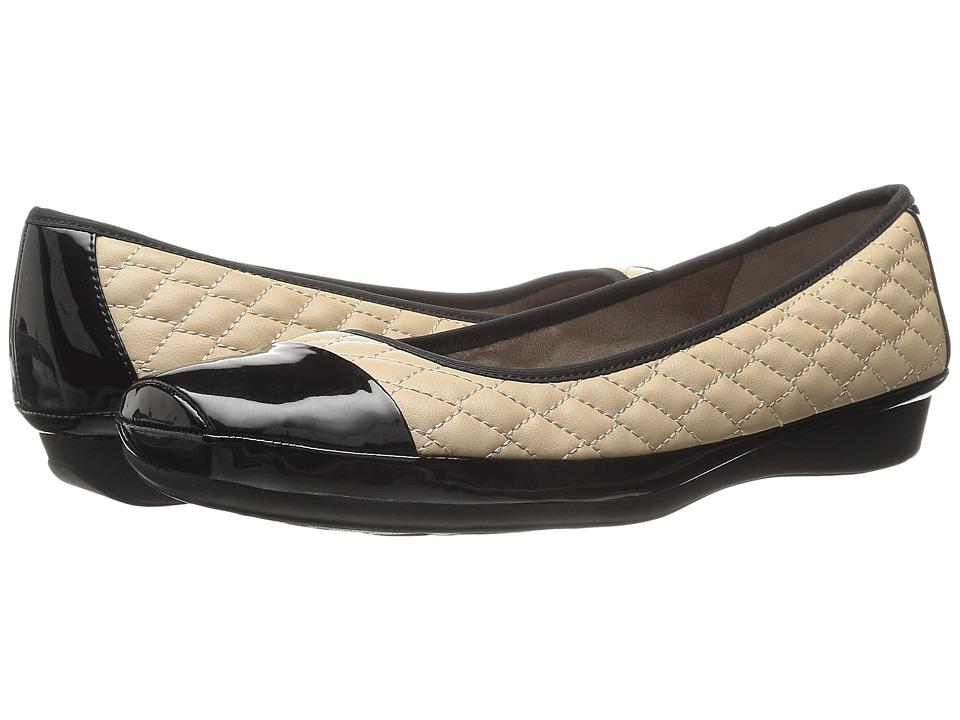 Naturalizer - Velma (Tender Taupe/Black Shiny) Women's Shoes