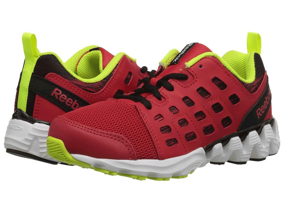 Reebok Kids - Zigkick Doom (Little Kid) (Red Rush/Black/Solar Yellow/White) Boys Shoes