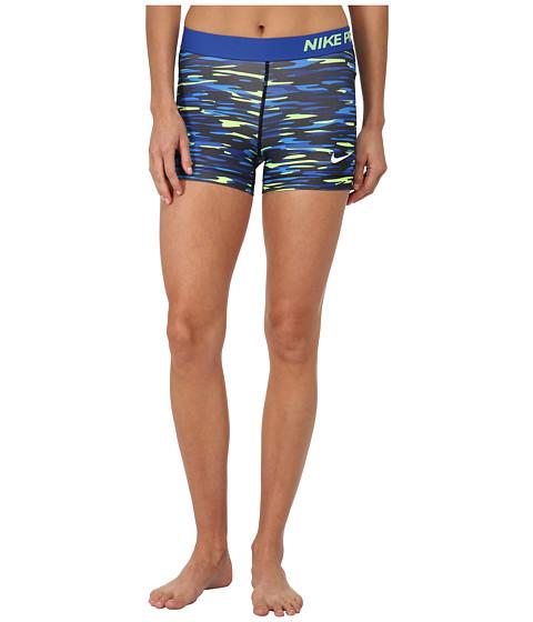 Nike - Dri-FIT Pro 3 Haze Shorts (Game Royal/Black/White) Women