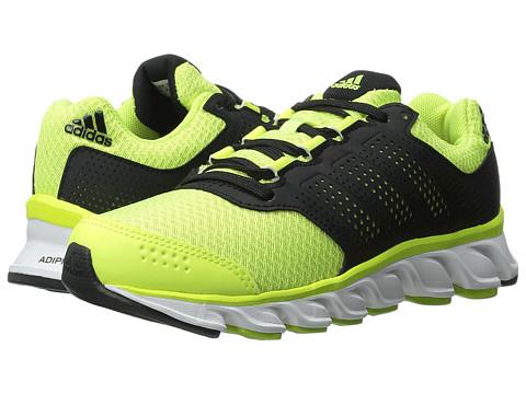 adidas Kids - Powerblaze K (Little Kid/Big Kid) (Solar Yellow/Black/White) Boys Shoes