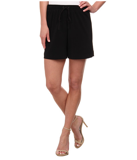 Karen Kane - Drawstring Shorts (Black) Women