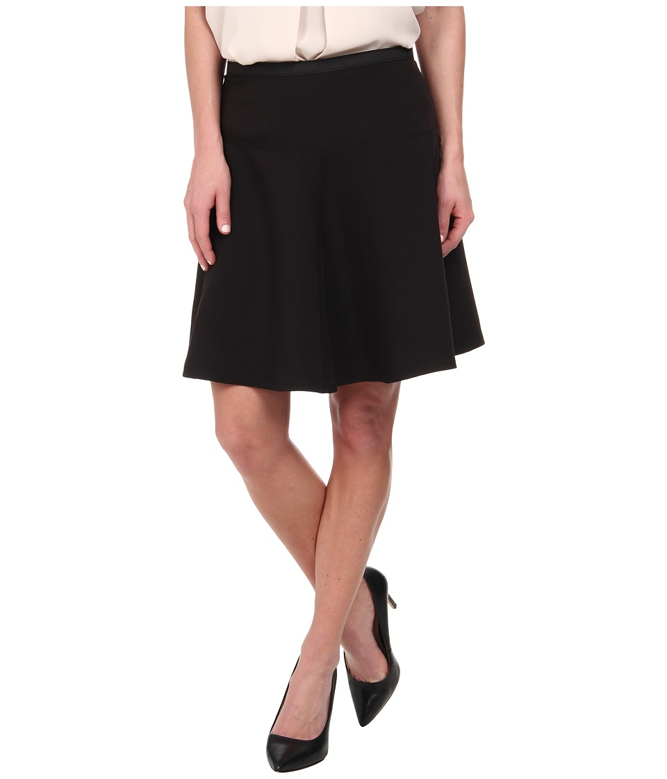 Karen Kane - Flared Skirt (Black) Women's Skirt