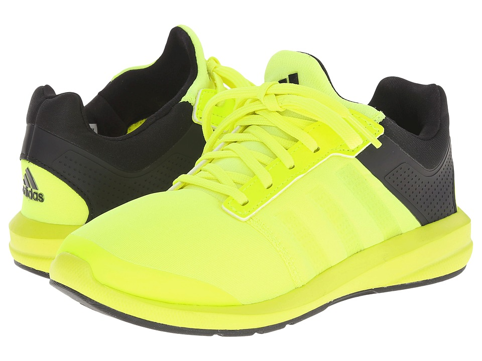 adidas Kids S-flex K (Little Kid/Big Kid) (Solar Yellow/Black/Black) Boys Shoes