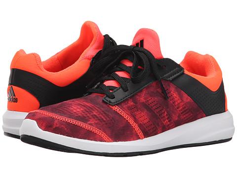 adidas Kids - S-flex K (Little Kid/Big Kid) (Black/Solar Red/White) Boys Shoes