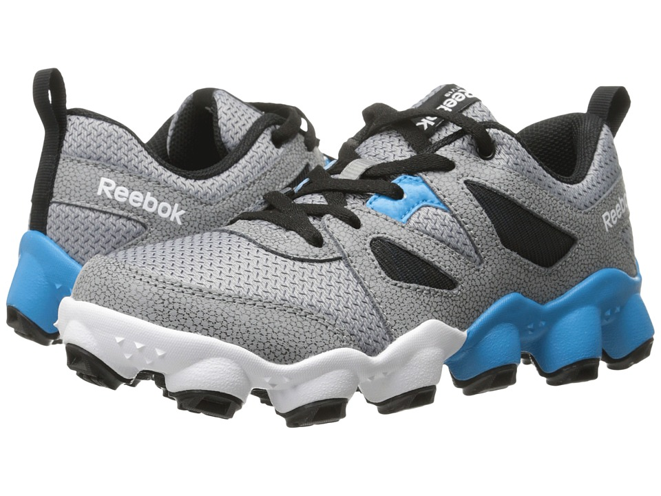 Reebok Kids - ATV19 Turbo (Little Kid) (Flat Grey/Black/Far Out Blue/White/Shark) Boys Shoes