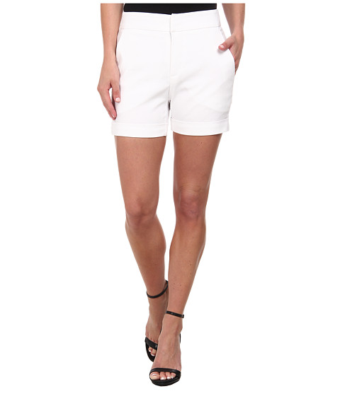 Karen Kane - Trouser Shorts (Off White) Women