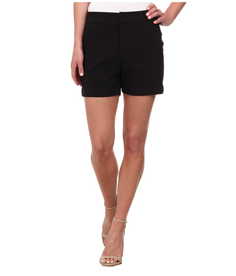 Karen Kane - Trouser Shorts (Black) Women's Shorts