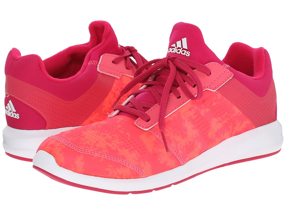 adidas Kids S-flex K (Little Kid/Big Kid) (Super Pink/Flash Red/Bold Pink) Girls Shoes