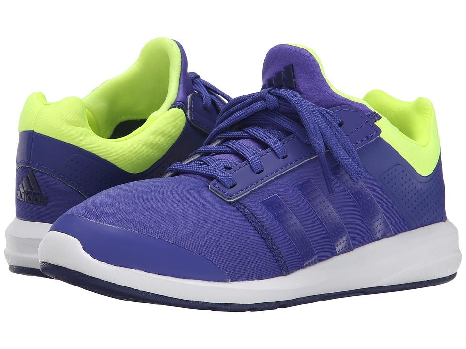 adidas Kids S-flex K (Little Kid/Big Kid) (Semi Night Flash/Midnight Indigo/Frozen Yellow) Girls Shoes