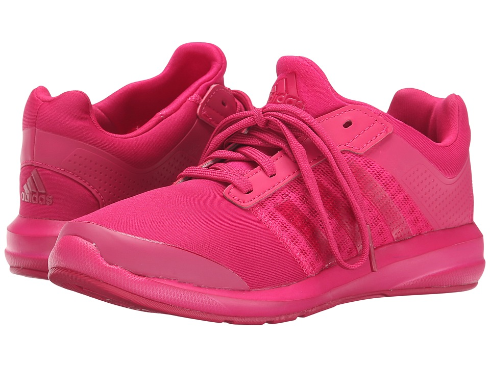 adidas Kids - S-flex K (Little Kid/Big Kid) (Bold Pink/Bold Pink) Girls Shoes