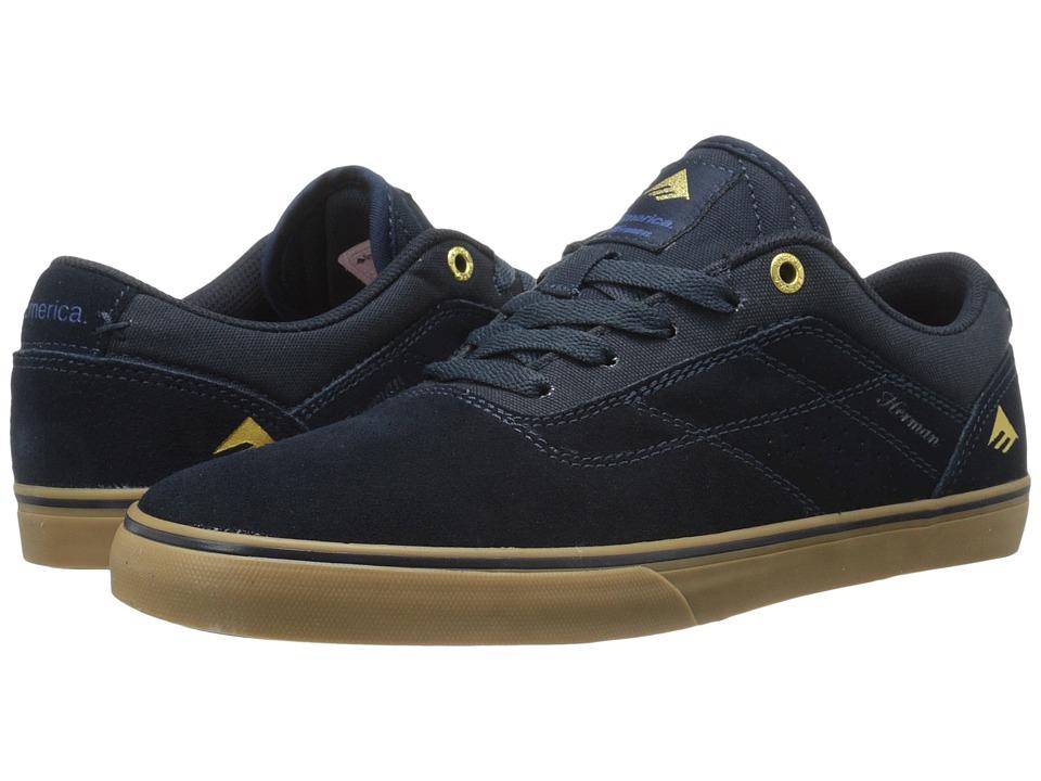 Emerica - The Herman G6 Vulc (Navy/Gum) Men's Skate Shoes