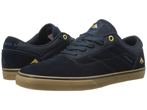 Emerica - The Herman G6 Vulc (Navy/Gum) Men's Skate Shoes