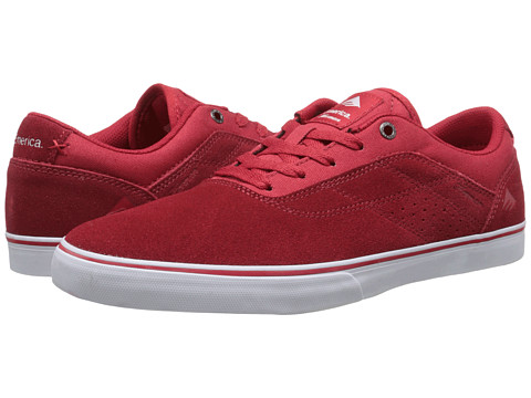Emerica - The Herman G6 Vulc (Red/White) Men's Skate Shoes