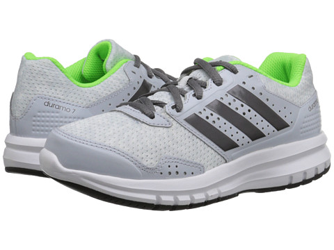 adidas Kids - Duramo 7 K (Little Kid/Big Kid) (Black/Silver Metallic/White) Boys Shoes