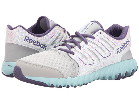 Reebok Kids - Twistform (Big Kid) (Steel/Silver Metallic/Purple Slate/White/Cool Breeze) Girls Shoes