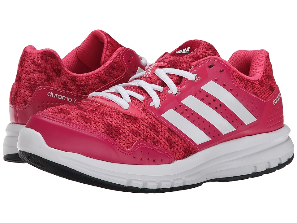 adidas Kids - Duramo 7 K (Little Kid/Big Kid) (Super Pink/White/Bold Pink) Girls Shoes