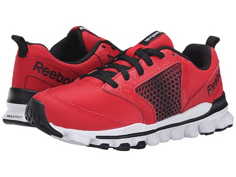 Reebok Kids - Hexaffect Run 2.0 Wild (Little Kid) (Red Rush/Black/White/Flash Red) Boys Shoes