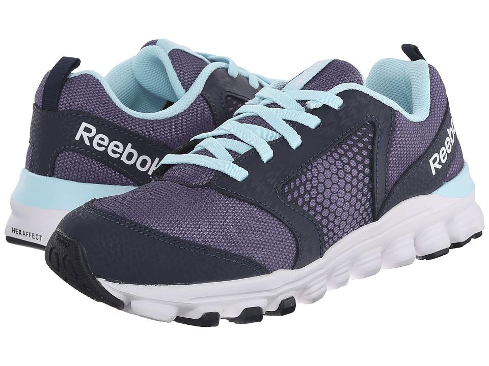 Reebok Kids - Hexaffect Run 2.0 Wild (Little Kid) (Purple Slate/Royal Orchid/Cool Breeze/White) Girls Shoes