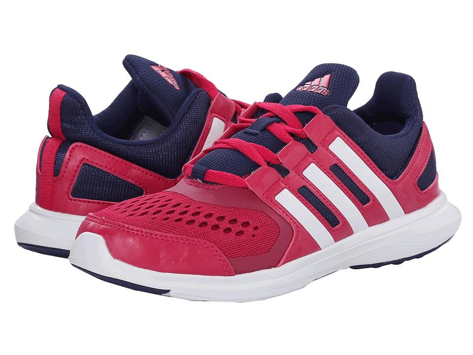 adidas Kids - Hyperfast 2.0 K (Little Kid/Big Kid) (Bold Pink/Midnight Indigo/White) Girls Shoes