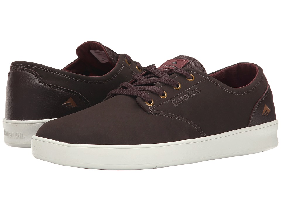 Emerica - The Romero Laced (Dark Brown) Men's Skate Shoes