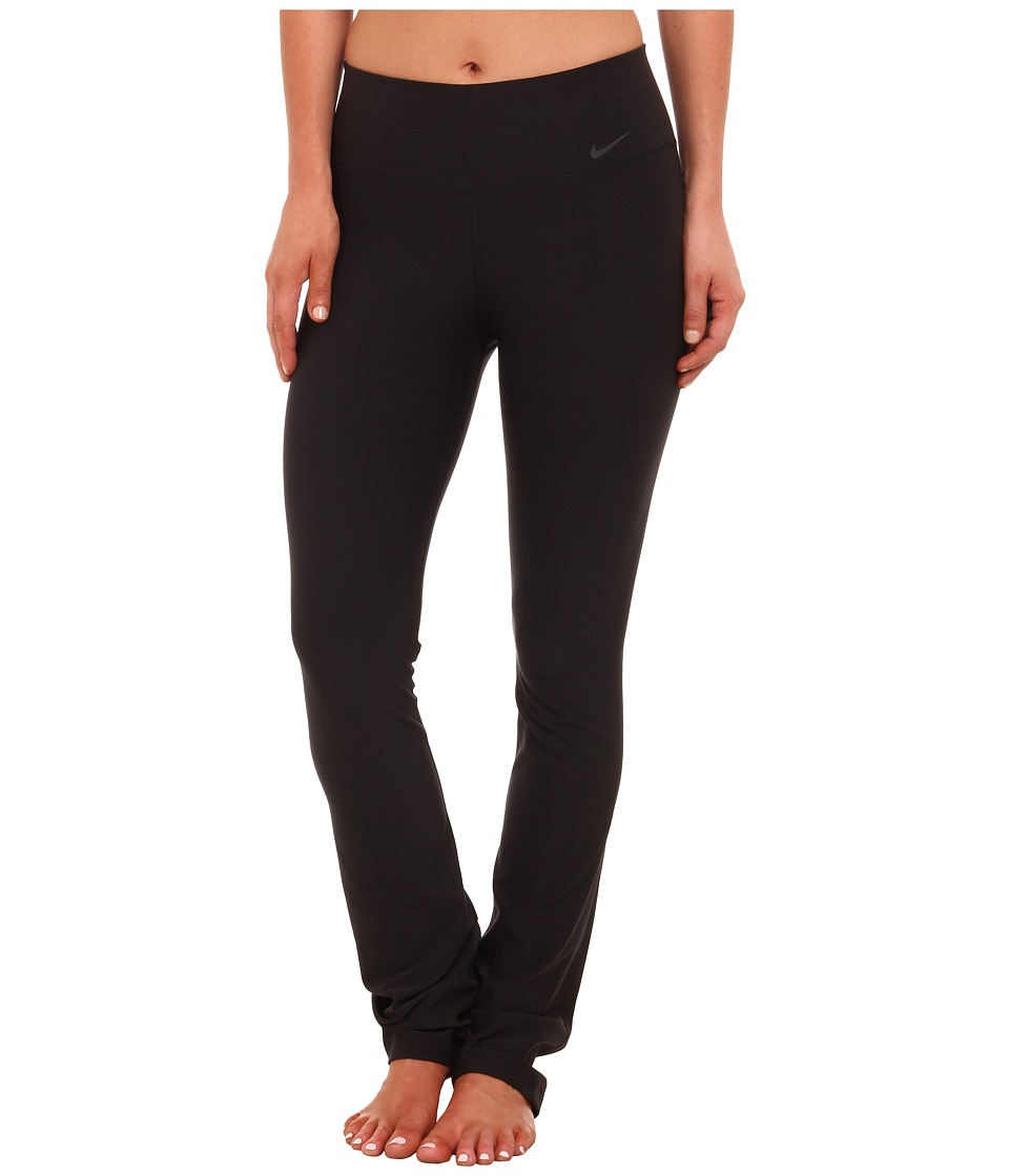 Nike - Legend Poly Skinny Pant (Black/Cool Grey) Women's Workout