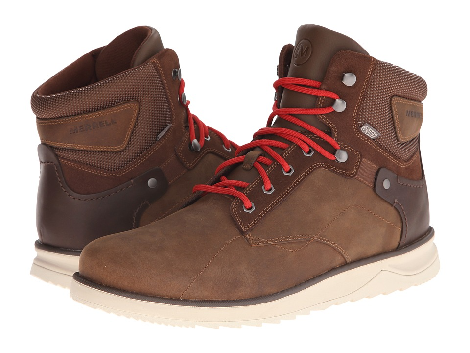Merrell - Epiction Mid Waterproof (Brown Sugar) Men's Waterproof Boots