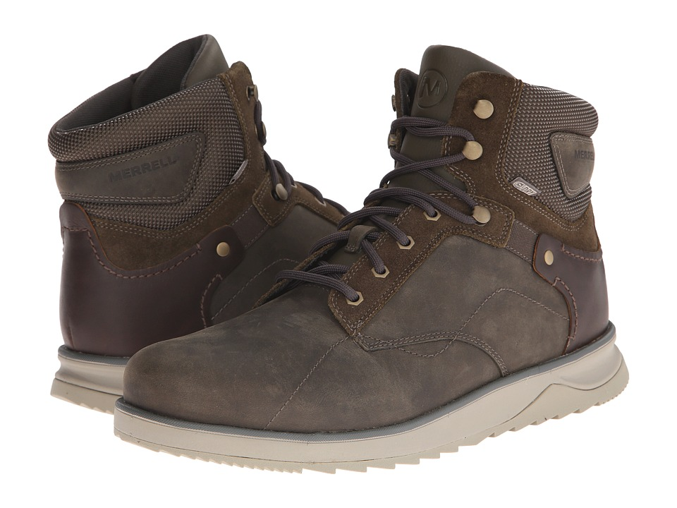 Merrell - Epiction Mid Waterproof (Boulder) Men