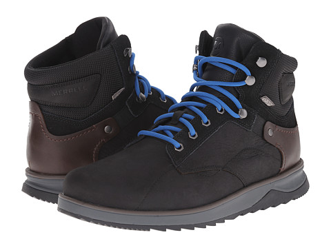 Merrell - Epiction Mid Waterproof (Black) Men