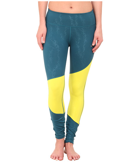 PUMA - WT Clash Long Tight (Blue Coral/Sulphur Spring) Women