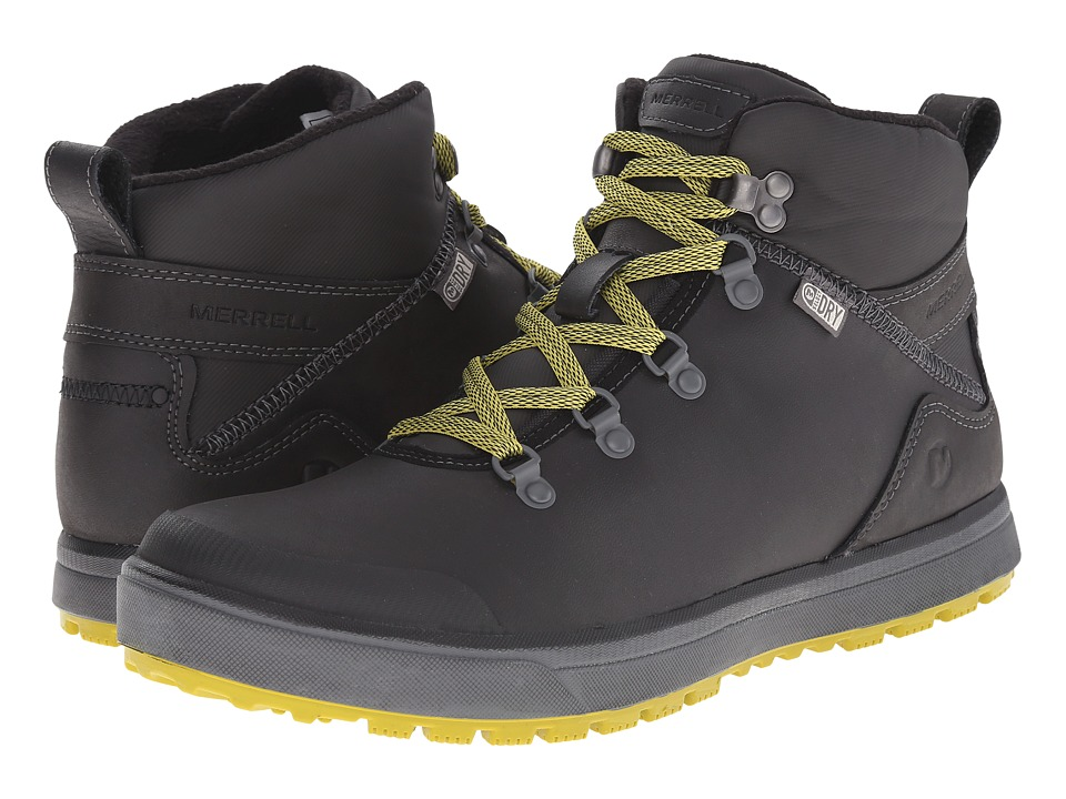 Merrell - Turku Trek Waterproof (Black) Men's Waterproof Boots