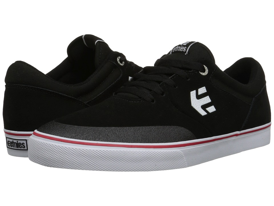 etnies - Marana Vulc (Black/White) Men's Skate Shoes