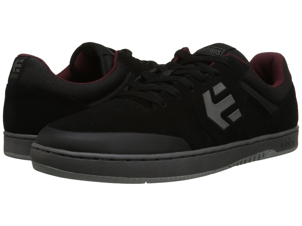 etnies - Marana (Black/Dark Grey/Grey) Men's Skate Shoes