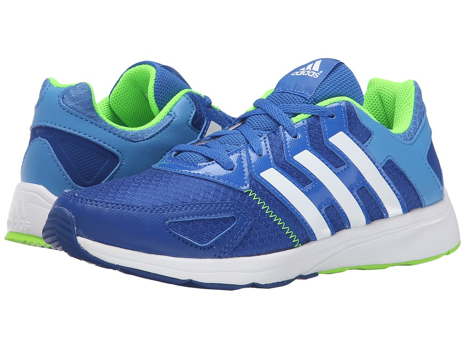 adidas Kids Az-Faito K (Little Kid/Big Kid) (Bold Blue/Super Blue/Flash Green) Boys Shoes