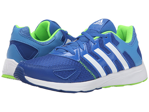 adidas Kids - Az-Faito K (Little Kid/Big Kid) (Bold Blue/Super Blue/Flash Green) Boys Shoes