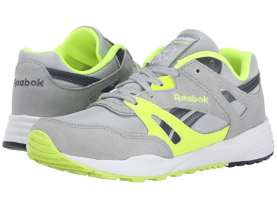 Reebok Kids - Ventilator (Little Kid) (Baseball Grey/White/Graphite/Solar Yellow) Boys Shoes