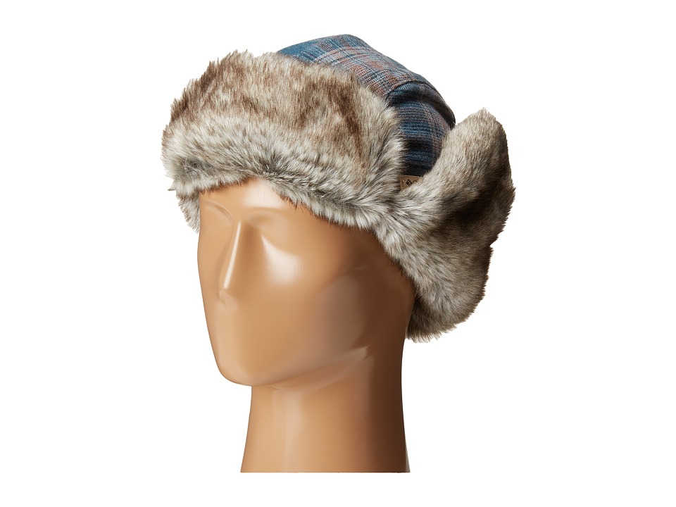 Columbia - Nobel Falls II Trapper (Everblue Plaid) Cold Weather Hats