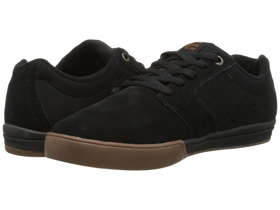 etnies - Jameson 2 E-Lite (Black/Gum) Men's Skate Shoes