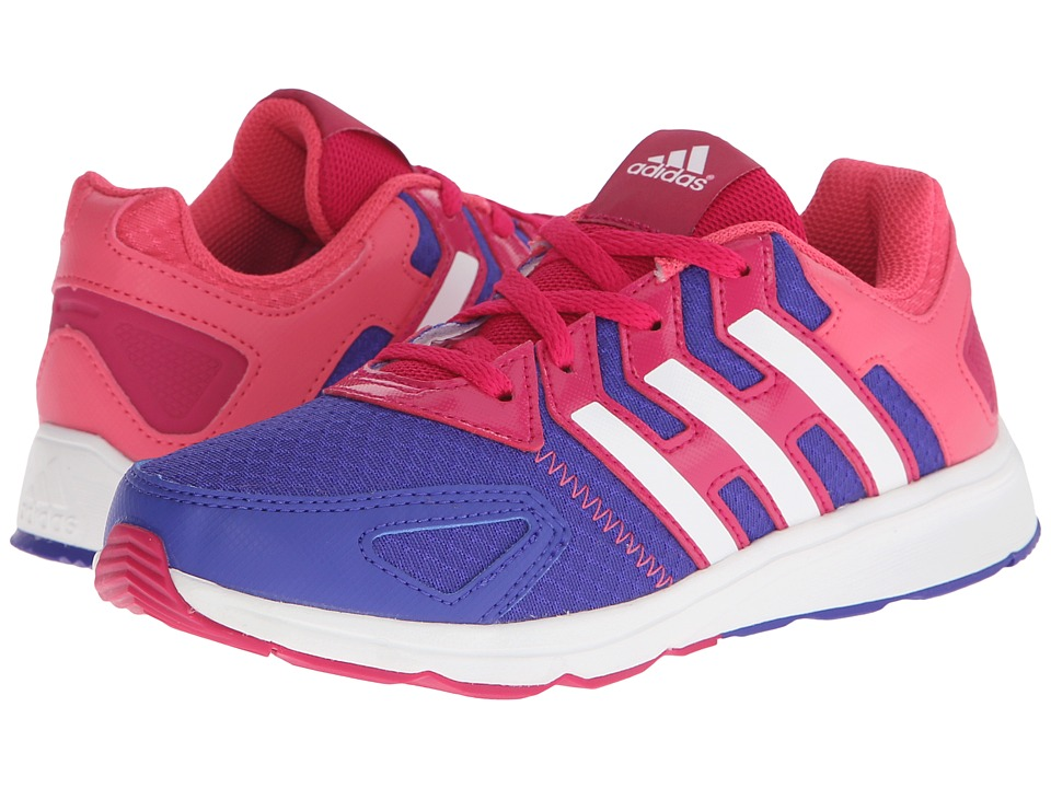 adidas Kids - Az-Faito K (Little Kid/Big Kid) (Night Flash/White/Bold Pink) Girls Shoes