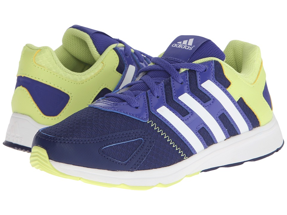 adidas Kids Az-Faito K (Little Kid/Big Kid) (Midnight Indigo/White/Semi Frozen Yellow) Girls Shoes