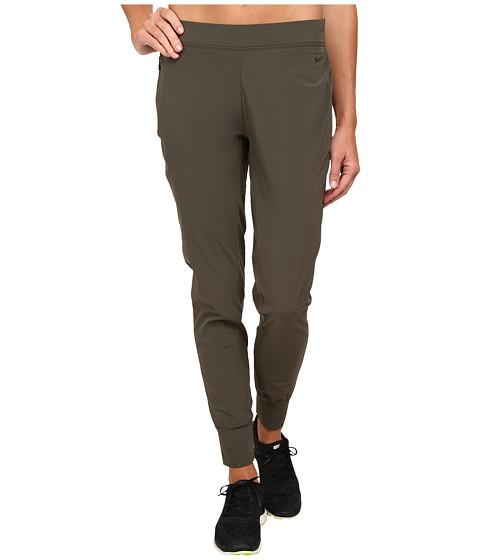 Nike - Bliss Woven Pant (Cargo Khaki/Cargo Khaki) Women