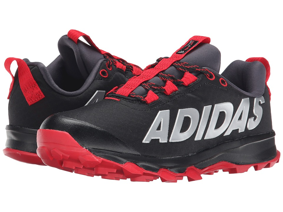 adidas Kids - Vigor 6 TR K (Little Kid/Big Kid) (Black/Red) Boys Shoes