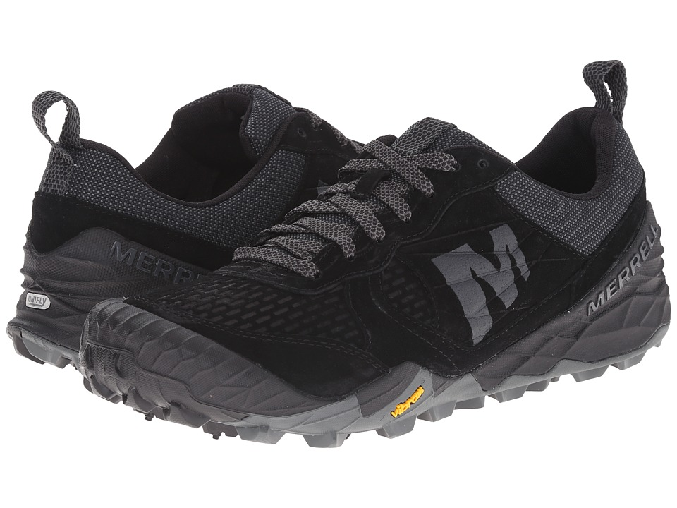 Merrell - Terra Turf (Black) Men's Lace up casual Shoes