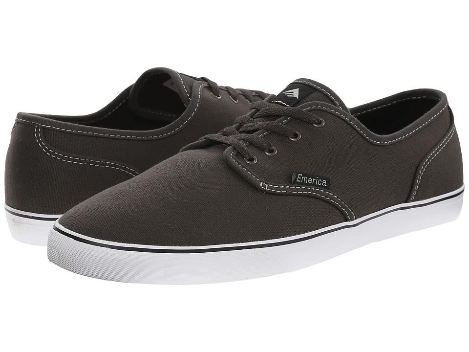 Emerica - Wino Cruiser (Dark Grey/White) Men's Skate Shoes