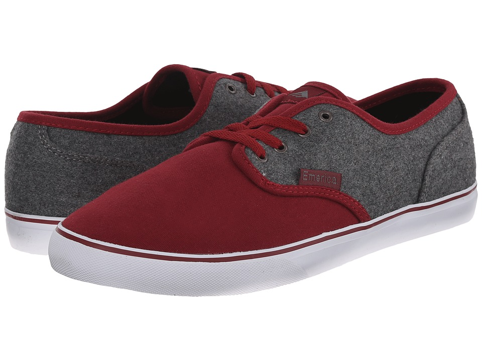Emerica - Wino Cruiser (Red/Grey/White) Men