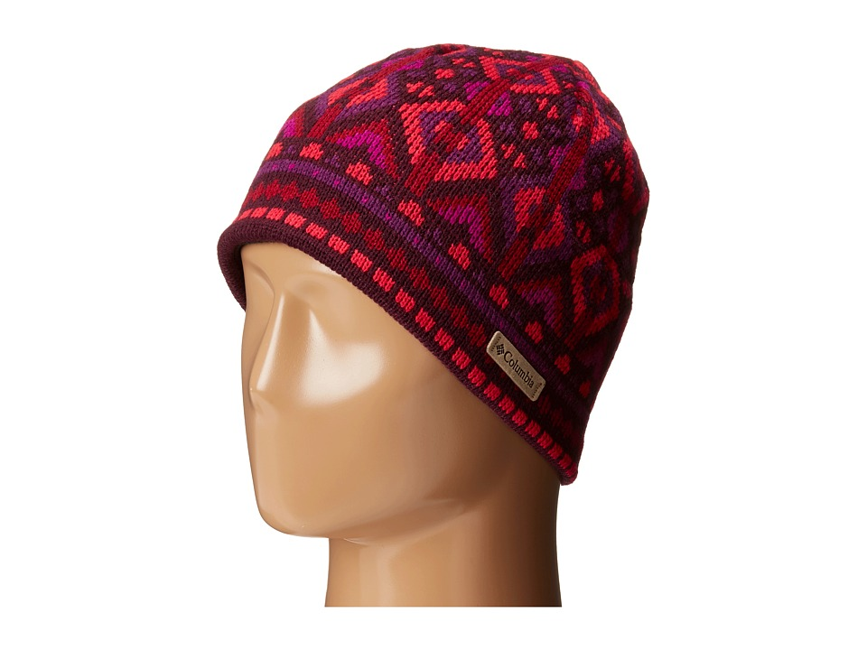 Columbia - Alpine Action Beanie (Purple Dahlia Geo Print) Beanies