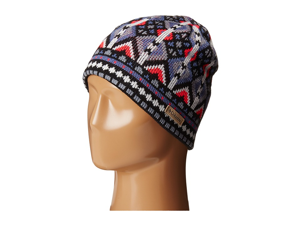 Columbia - Alpine Action Beanie (Black Geo Print) Beanies
